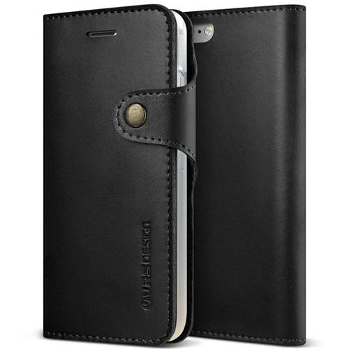 Чехол Verus Native Diary для iPhone 7 (Айфон 7) чёрный (VRIP7-NTDBK)