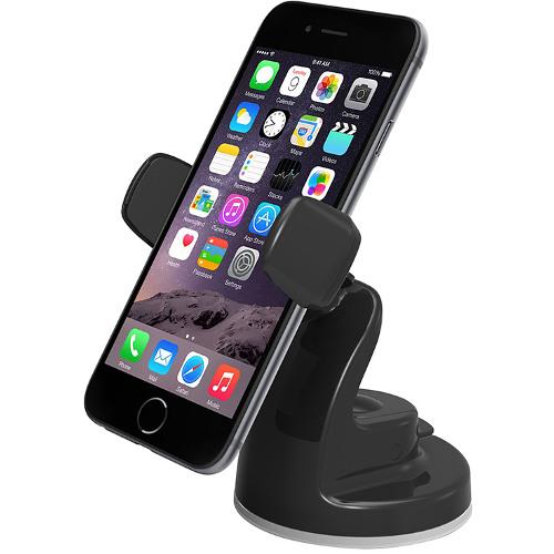 Автомобильный держатель Onetto Easy View 2 чёрныйАвтодержатели<br>Автодержатель Onetto Car&amp;Desk Mount Easy View 2 черный<br><br>Цвет товара: Чёрный<br>Материал: Пластик