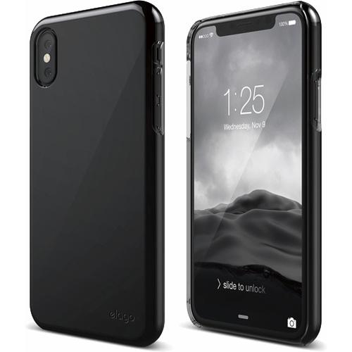 Чехол Elago Slim Fit 2 для iPhone X чёрныйЧехлы для iPhone X<br>Ультратонкий и в то же время невероятно прочный Elago Slim Fit 2 — это абсолютная защита для вашего iPhone X!<br><br>Цвет: Чёрный<br>Материал: Поликарбонат