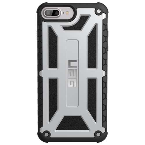 Чехол UAG Monarch Series Case для iPhone 6 Plus/6s Plus/7 Plus/8 Plus платиновыйЧехлы для iPhone 6/6s Plus<br>Чехлы от компании Urban Armor Gear разработаны и спроектированы таким образом, чтобы обеспечить максимальную защиту вашему смартфону, при этом со...<br><br>Цвет товара: Серебристый<br>Материал: Пластик