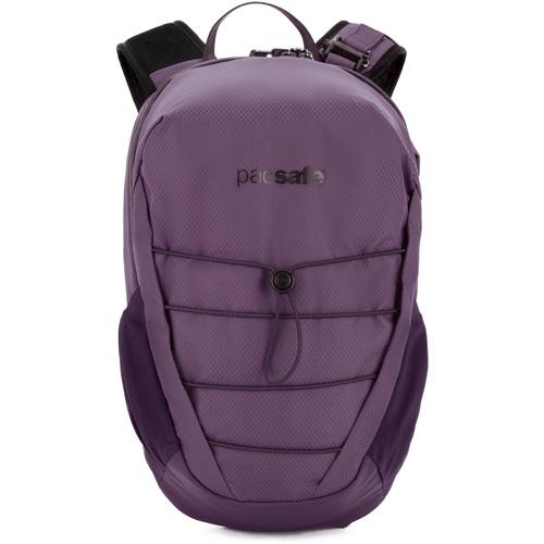 Рюкзак PacSafe Venturesafe X 12L Anti-theft Backpack (Plum) фиолетовыйРюкзаки<br>Рюкзак PacSafe Venturesafe X, объемом 12 литров, отлично подойдет как для городских прогулок, так и для командировок, путешествий и даже походов.<br><br>Цвет товара: Фиолетовый<br>Материал: 210D нейлон Diamond Ripstop, 200D полиэстер Oxford, полиуретан (1000 мм), нержавеющая сталь