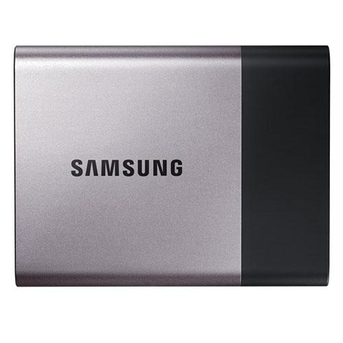 Внешний жесткий диск Samsung Portable SSD T3 (MU-PT500B) 500 Гб серебристый от iCases