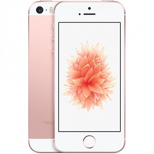 Apple iPhone SE - 128 Гб розовое золотоApple iPhone 5s/SE<br>Новинка весны 2016 года от Apple — iPhone SE — объединил в себе уже знакомые новейшие технологии и самый полюбившийся пользователям дизайн.<br><br>Цвет товара: Розовое золото<br>Материал: Металл<br>Модификация: 128 Гб