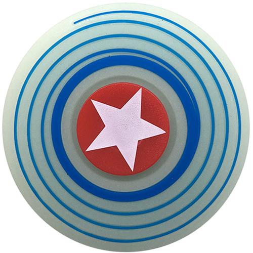 Спиннер FingerTip Comics Series Капитан Америка SP4533Игрушки-антистресс<br>Спиннер — новая и невероятно занимательная игрушка-антистресс, которая поможет вам сосредоточиться и успокоить нервы.<br><br>Цвет товара: Разноцветный<br>Материал: Пластик