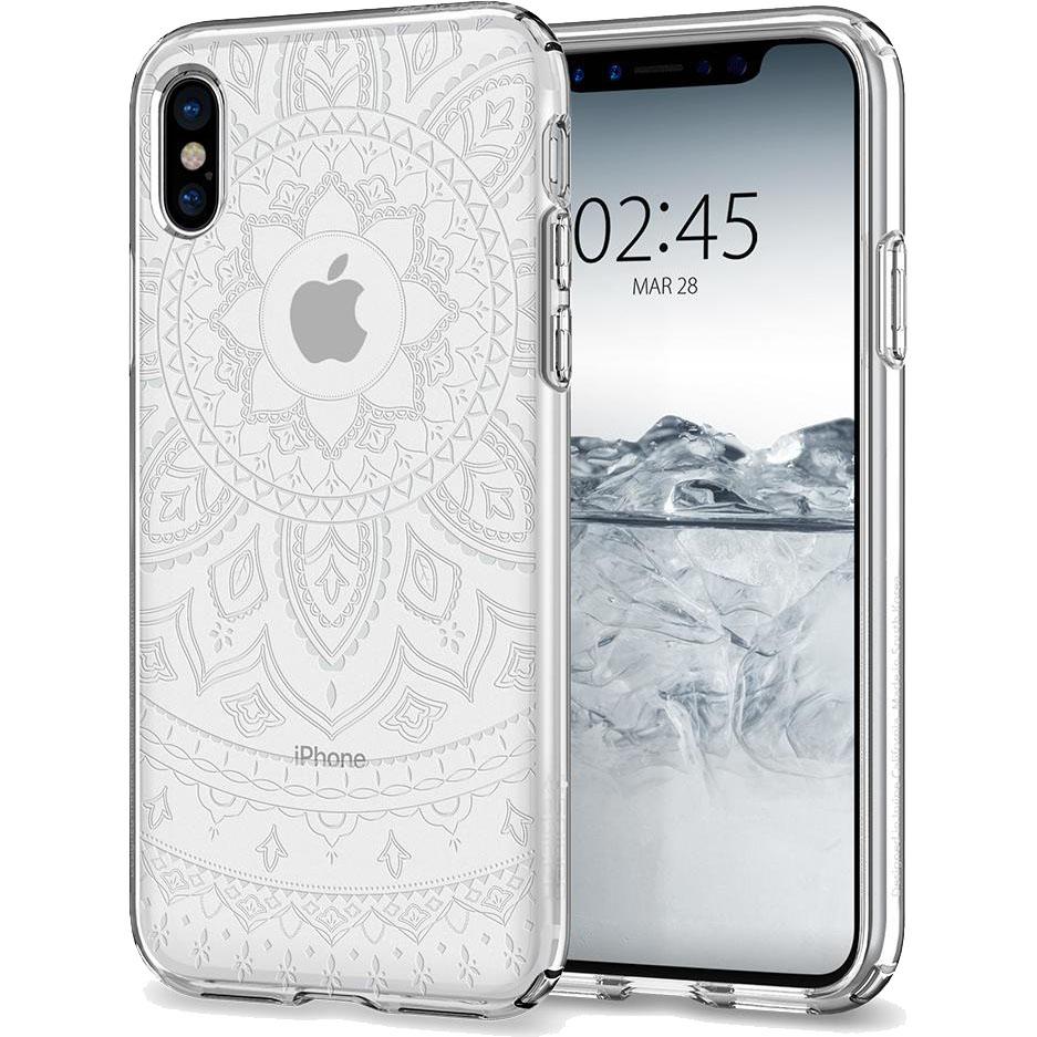 Чехол Spigen Liquid Crystal Shine для iPhone X кристально-прозрачный (057CS22120)Чехлы для iPhone X<br>Чехол Spigen Liquid Crystal Shine сделан для тех, кто предпочитает классику и минимализм, а не кратковременные модные веяния.<br><br>Цвет товара: Прозрачный<br>Материал: Термопластичный полиуретан