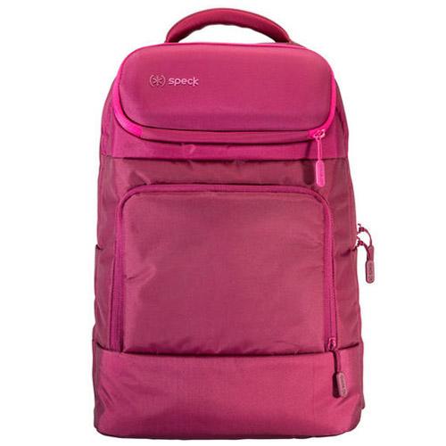 Рюкзак Speck Mightypack для ноутбука 15 розовыйРюкзаки<br>Рюкзаки Mightypack позволяют вам безопасно и аккуратно переносить ваш ноутбук, гаджеты и аксессуары с максимальным комфортом.<br><br>Цвет товара: Розовый<br>Материал: Нейлон, искусственный мех, пластик