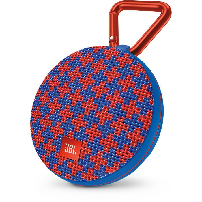 Портативная акустическая система JBL Clip 2 Special Edition MaltaКолонки и акустика<br>Ультрамощный портативный динамик JBL CLIP 2 с впечатляющими характеристиками.<br><br>Цвет товара: Разноцветный<br>Материал: Пластик, металл, текстиль