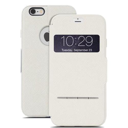 Чехол Moshi SenseCover для iPhone 6/6s бежевыйЧехлы для iPhone 6/6s<br>Moshi SenseCover — безупречное слияние защиты и свежих инженерных идей. Чехол-книжка с сенсорным покрытием позволяет использовать многие функции...<br><br>Цвет товара: Бежевый<br>Материал: Поликарбонат, полиуретановая кожа