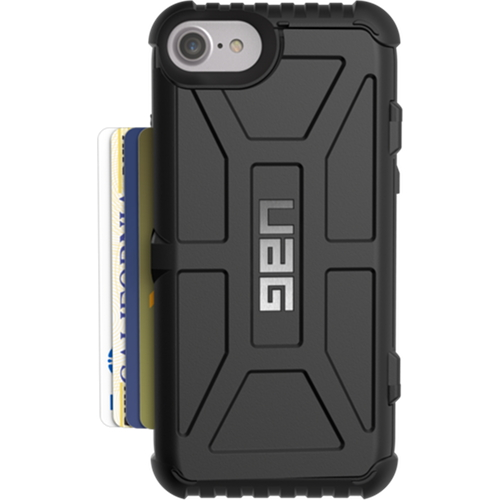 Чехол UAG Trooper Series Case для iPhone 6/6s/7 чёрныйЧехлы для iPhone 6/6s<br>Чехлы от компании Urban Armor Gear разработаны и спроектированы таким образом, чтобы обеспечить максимальную защиту вашему смартфону, при этом со...<br><br>Цвет товара: Чёрный<br>Материал: Пластик