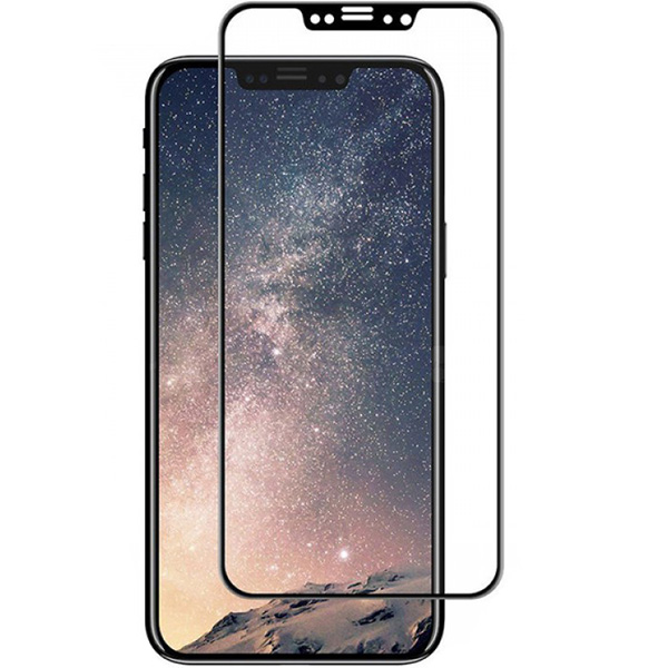 Защитное стекло DoDo Full Screen для iPhone X чёрная рамкаСтекла/Пленки на смартфоны<br>Защитное стекло DoDo отлично подходит для повседневного использования!<br><br>Цвет: Чёрный<br>Материал: Стекло