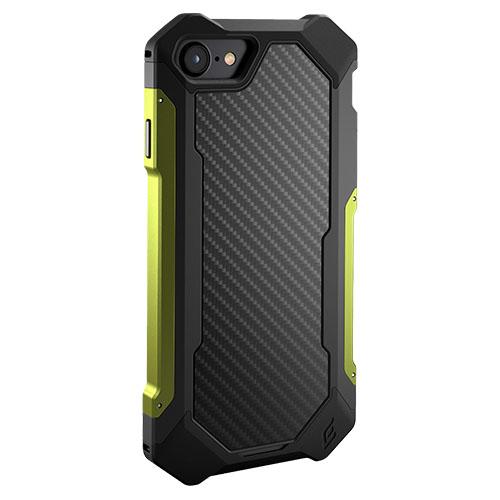 Чехол Element Case Sector для iPhone 7 чёрный/зелёный