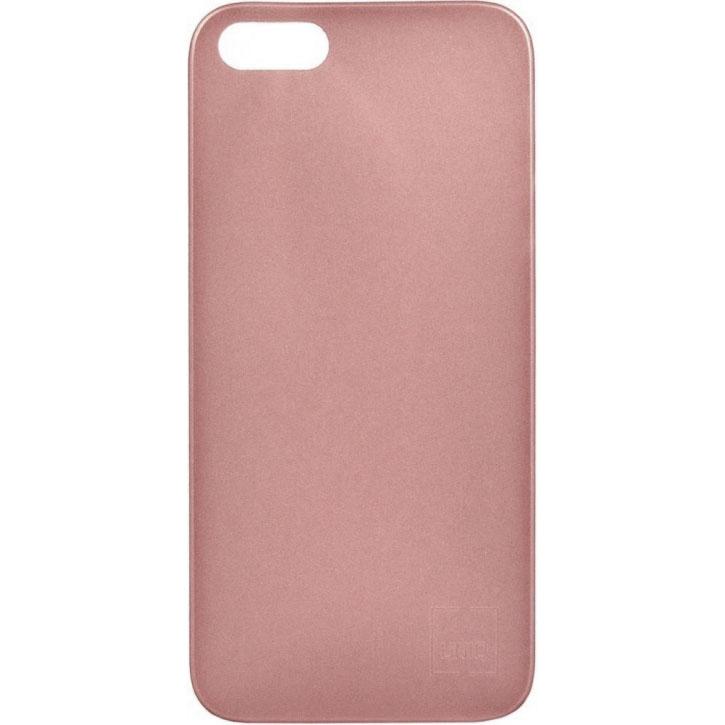 Чехол Uniq Bodycon для iPhone 5S/SE розовое золотоЧехлы для iPhone 5/5S/SE<br>Тонкий, словно лепесток цветка, и легкий словно пушинка!<br><br>Цвет товара: Розовое золото<br>Материал: Поликарбонат, силикон