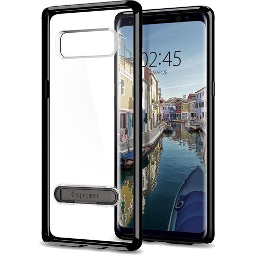 Чехол Spigen Ultra Hybrid S для Samsung Galaxy Note 8 чёрный (587CS22069)Чехлы для Samsung Galaxy Note<br>Spigen Ultra Hybrid S — один из самых тонких, надёжных и привлекательных чехлов для вашего любимого смартфона!<br><br>Цвет товара: Чёрный<br>Материал: Поликарбонат, термопластичный полиуретан