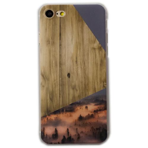 Чехол iPapai «Wood» (Рассвет) для iPhone 7Чехлы для iPhone 7<br>Стильный и надёжный чехол iPapai с уникальным дизайнерским принтом.<br><br>Цвет товара: Разноцветный<br>Материал: Пластик