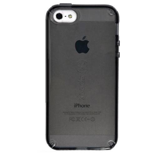Чехол Speck CandyShell Clear для iPhone 5/5s/5SEЧехлы для iPhone 5s/SE<br>Чехол Speck CandyShell Clear для iPhone 5/5s/5SE прозрачный/черный<br><br>Цвет товара: Чёрный<br>Материал: Пластик, резина