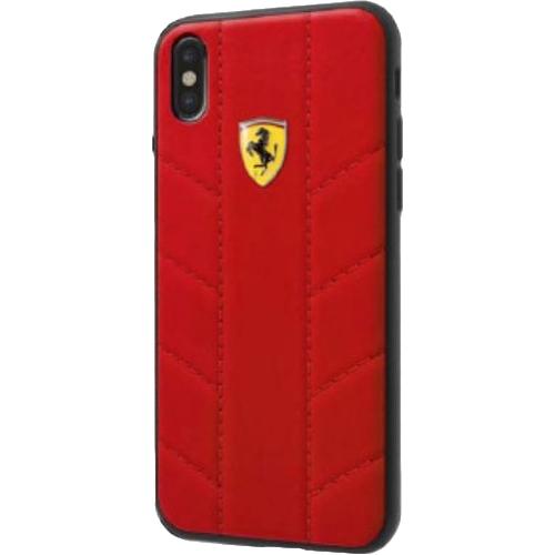 Чехол Ferrari On-track SF Racing tyres Hard PU для iPhone X красныйЧехлы для iPhone X<br>Чехол Ferrari On-track SF Racing tyres Hard выполнен из экокожи, которая славится своей привлекательностью, прочностью и износостойкостью.<br><br>Цвет товара: Красный<br>Материал: Экокожа, полиуретан, поликарбонат