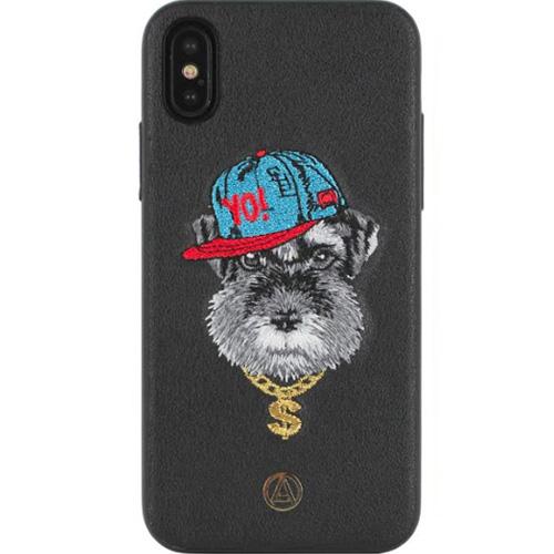 Чехол Luna Aristo Puppy Series для iPhone X чёрныйЧехлы для iPhone X<br>Оригинальный дизайн и надёжная защита!<br><br>Цвет товара: Чёрный<br>Материал: Пластик, текстиль