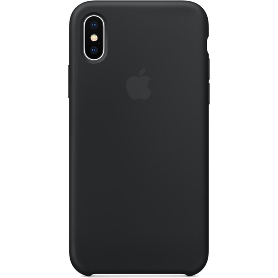 Силиконовый чехол Apple Silicone Case для iPhone X чёрныйЧехлы для iPhone X<br>Силиконовый чехол от Apple — отличное дополнение к вашему iPhone X.<br><br>Цвет товара: Чёрный<br>Материал: Силикон