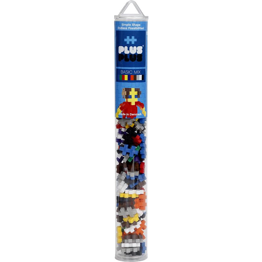Конструктор Plus-Plus Mini 100 Basic (MN100BASIC)3D пазлы и конструкторы<br>Уникальный конструктор, развивающий фантазию и моторные навыки детей!<br><br>Цвет товара: Разноцветный<br>Материал: Пластик