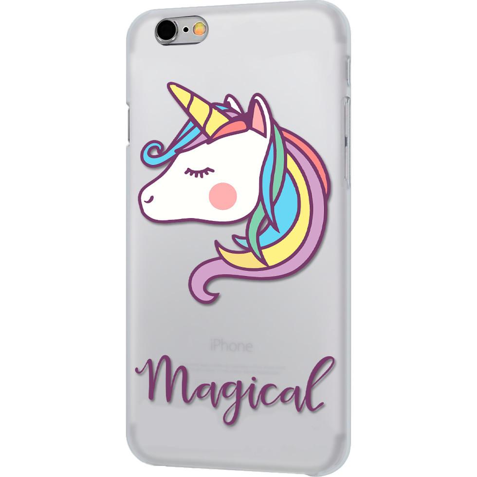 Чехол iPapai для iPhone 7 «Животные» (Единорог)Чехлы для iPhone 7<br>Креативный силиконовый чехол iPapai с уникальным дизайнерским принтом для iPhone 7.<br><br>Цвет товара: Разноцветный<br>Материал: Силикон