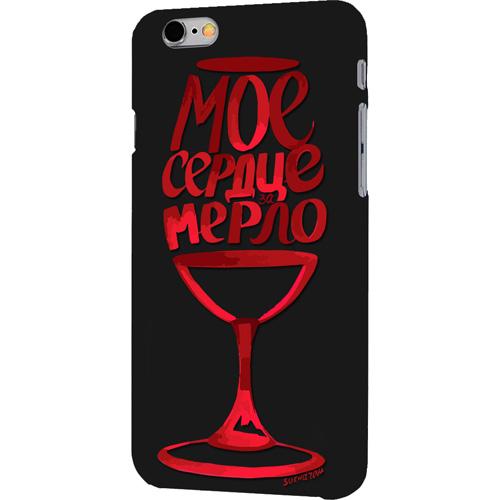 Чехол iPapai «Вино» (Мерло) для iPhone 7Чехлы для iPhone 7<br>Чехол iPapai «Вино» для тех, кто обладает не только хорошим вкусом и оригинальностью, но и ценит безопасность своего гаджета.<br><br>Цвет товара: Чёрный<br>Материал: Силикон