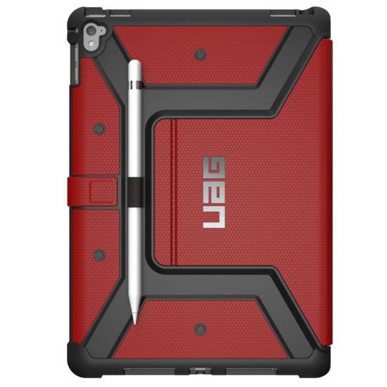 Чехол UAG Metropolis Case для iPad Pro 9.7 красныйЧехлы для iPad Pro 9.7<br>UAG Metropolis Case обладает отличной надежностью и долговечностью!<br><br>Цвет товара: Красный<br>Материал: Композитный пластик, силикон