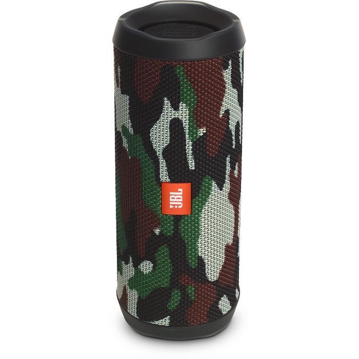 Портативная акустическая система JBL Flip 4 Special Edition Squad камуфляжКолонки и акустика<br>Портативная и водонепроницаемая беспроводная акустическая система JBL Flip 4 с удивительно мощным звучанием и множеством полезных функций.<br><br>Цвет товара: Разноцветный<br>Материал: Пластик, текстиль