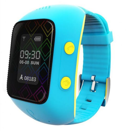 Купить со скидкой Детские умные часы MyRope R12 голубые