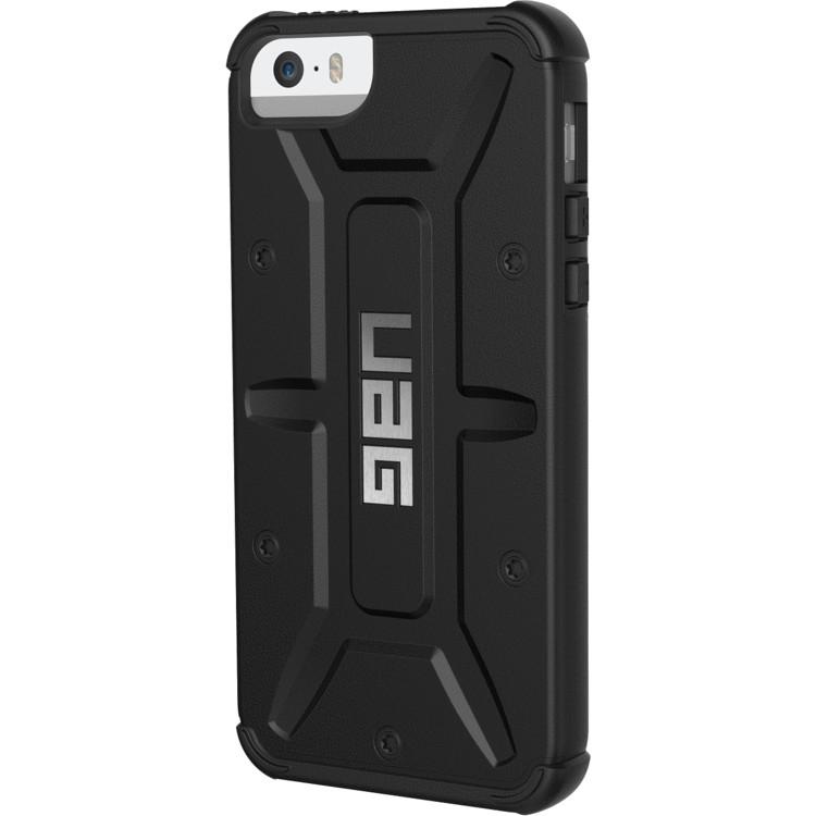 Чехол UAG Pathfinder Series Case для iPhone 5/5S/SE чёрныйЧехлы для iPhone 5/5S/SE<br>Каждый чехол UAG Case прошел независимые тесты и был сертифицирован в соответствии высоким стандартам MIL-STD 810G/<br><br>Цвет товара: Чёрный<br>Материал: Пластик