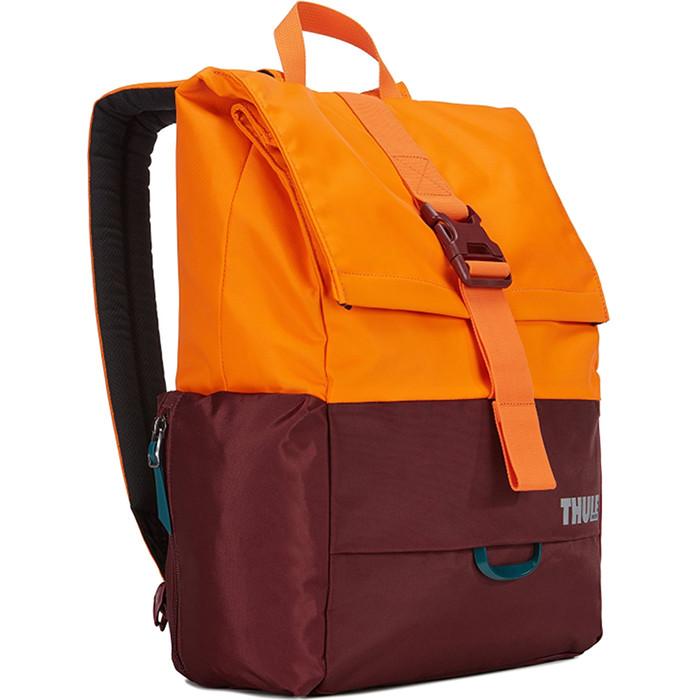 Рюкзак Thule Departer 23L для MacBook 13 (TDSB-113) бордовый/оранжевыйРюкзаки<br>Рюкзак Thule Departer 13 (TDSB-113) — является одной из самых популярных моделей!<br><br>Цвет товара: Оранжевый<br>Материал: 400D нейлон