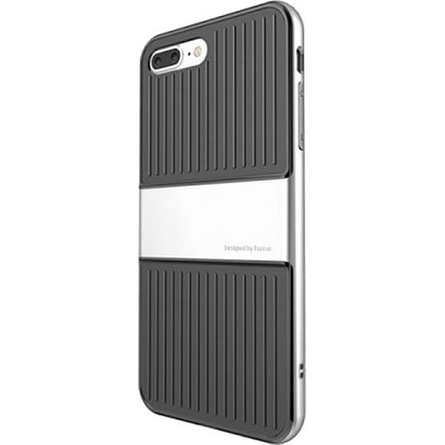 Чехол Baseus Travel Case для iPhone 7 Plus серебристыйЧехлы для iPhone 7 Plus<br>Чехол Baseus Travel Case для iPhone 7 Plus - серебристый<br><br>Цвет товара: Серебристый<br>Материал: Поликарбонат, термопластичный полиуретан
