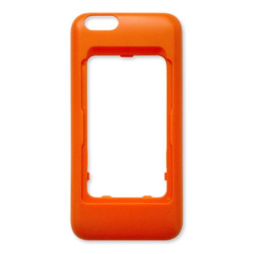 Чехол Elari CardPhone для iPhone 6/6SЧехлы для iPhone 6/6s<br>Чехол Elari для телефона Elari CardPhone и iPhone 6/6s - оранжевый<br><br>Цвет товара: Оранжевый<br>Материал: Пластик