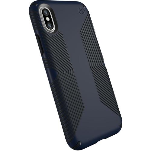 Чехол Speck Presidio Grip для iPhone X синий\чёрныйЧехлы для iPhone X<br>Чехол Speck Presidio GRIP для iPhone X — это великолепная двухслойная защита и стиль.<br><br>Цвет товара: Синий<br>Материал: Поликарбонат, резина