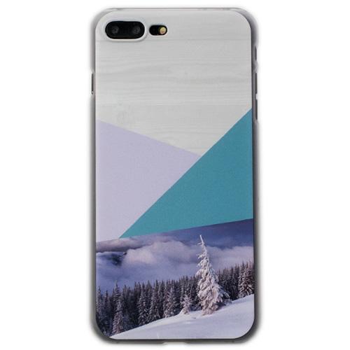 Чехол iPapai «Wood» (Снег) для iPhone 7 PlusЧехлы для iPhone 7 Plus<br>Стильный и надёжный чехол iPapai с уникальным дизайнерским принтом.<br><br>Цвет товара: Разноцветный<br>Материал: Пластик