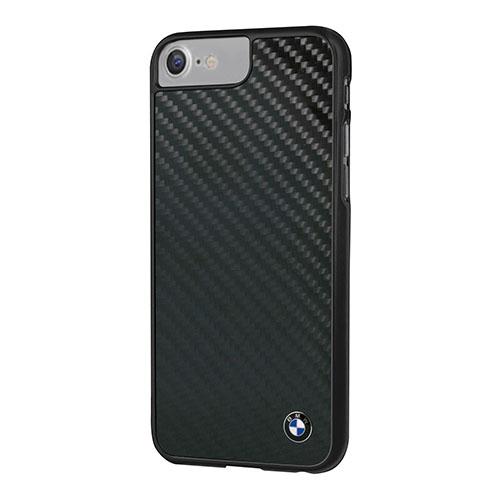 Чехол BMW Signature Real Carbon Hard для iPhone 7 (Айфон 7) чёрныйЧехлы для iPhone 7<br>Чехол BMW для iPhone 7 Signature Real carbon Hard Black<br><br>Цвет товара: Чёрный<br>Материал: Полкикарбонат, карбон