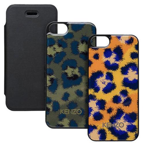 Набор чехлов Kenzo Leo Pack (folio+covers) для iPhone 5/5S/SE