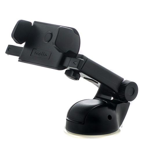 Автомобильный держатель Onetto One Touch Mini Telescopic чёрныйАвтодержатели<br>One Touch Mini Telescopic крепко держится даже при резких поворотах.<br><br>Цвет товара: Чёрный<br>Материал: Пластик