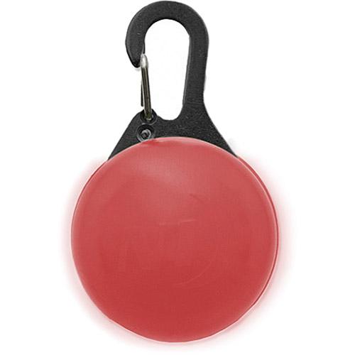 Светодиодный брелок Nitelze SpotLit Красный (черный карабин)Брелоки и карабины<br>Светодиодный брелок Nitelze SpotLit Красный (черный карабин)<br><br>Цвет товара: Красный<br>Материал: Силикон, металл