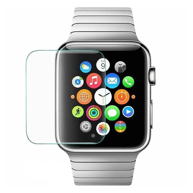 Защитное стекло HOCO Ghost Series Filmset для Apple Watch 38 ммЗащитные пленки Apple Watch<br><br><br>Цвет товара: Прозрачный<br>Материал: Закалённое стекло<br>Модификация: 38 мм