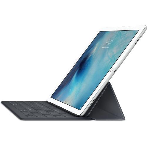 Клавиатура Apple Smart Keyboard для iPad Pro 12,9, с русскими буквамиБеспроводные клавиатуры<br>Клавиатура Apple Smart Keyboard для iPad Pro 12.9 c рус букв<br><br>Цвет товара: Чёрный<br>Материал: Пластик, полиуретановая кожа