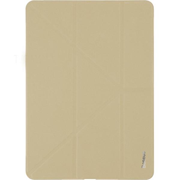 Чехол Baseus Simplism Y-Type Leather Case для iPad Pro 10.5 хакиЧехлы для iPad Pro 10.5<br>Baseus Simplism Y-Type Leather Case несомненно добавит вашему планшету элегантности и стиля!<br><br>Цвет товара: Золотой<br>Материал: Искусственная кожа, поликарбонат