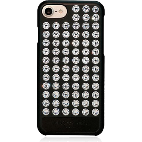 Чехол Bling My Thing Extravaganza Pure Crystal для iPhone 7 чёрныйЧехлы для iPhone 7<br>Чехол Bling My Thing серии Extravaganza с кристаллами Swarovski изящно подчёркивает непревзойдённый стиль iPhone 7.<br><br>Цвет товара: Чёрный<br>Материал: Пластик, кристаллы Swarovski