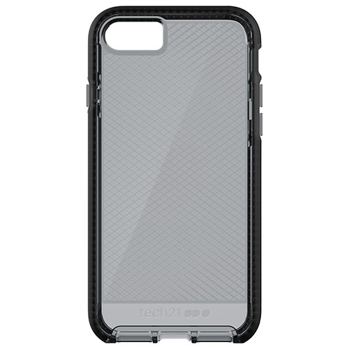 Чехол Tech21 Evo Check Case для iPhone 7 дымный/чёрный