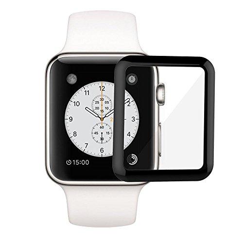 Защитное стекло Ainy 3D Full Screen Protector для Apple Watch 38 ммЗащитные пленки Apple Watch<br>Ainy 3D Full Screen Protector - необычайно прочное защитное стекло для Apple Watch.<br><br>Цвет товара: Прозрачный<br>Материал: Стекло<br>Модификация: 38 мм