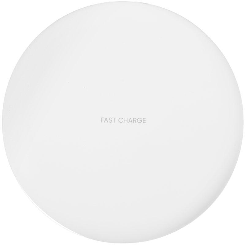Зарядное устройство DoDo Wireless Fast Charge белоеСетевые зарядки<br>DoDo Wireless Fast Charge поддерживает зарядку на всех 360 градусах своей окружности.<br><br>Цвет товара: Белый<br>Материал: Пластик