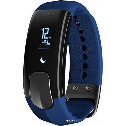 Фитнес-браслет MIO SLICE Sienna (размер L) синийБраслеты, кардиодатчики<br>MIO SLICE поможет узнать сколько шагов вы прошли и сколько затратили калорий, а также время и расстояние, которое вы прошли, и, конечно же, ваш пу...<br><br>Цвет товара: Синий<br>Материал: Пластик, силикон<br>Модификация: L