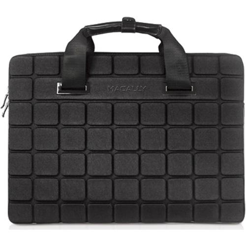 Сумка Macally AirCase Lightweight Neoprene Sleeve для MacBook 15 чёрнаяСумки для ноутбуков<br>Macally AirCase станет верным спутником активного, делового человека, отдающего предпочтение стильным и качественным аксессуарам.<br><br>Цвет товара: Чёрный<br>Материал: Кожа, неопрен, текстиль
