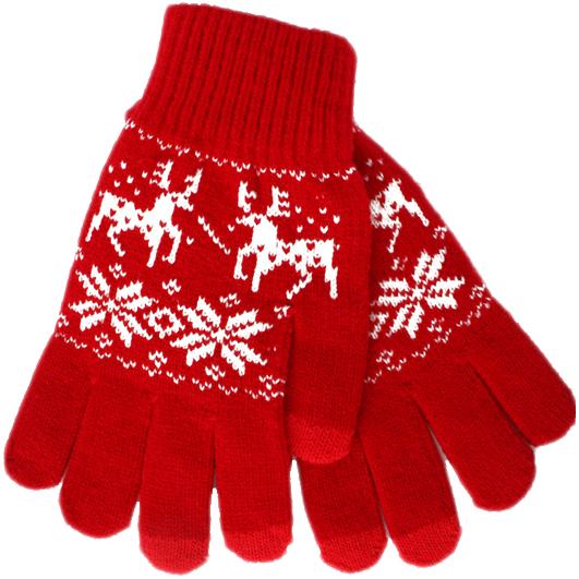 Перчатки iGloves (p2) для iPhone/iPod/iPad/etc красные с оленями (Размер M)Перчатки для экрана<br>Перчатки iGloves  — отличный подарок на Новый Год!<br><br>Цвет товара: Красный<br>Материал: 50% - шерсть, 50% - акрил<br>Модификация: M