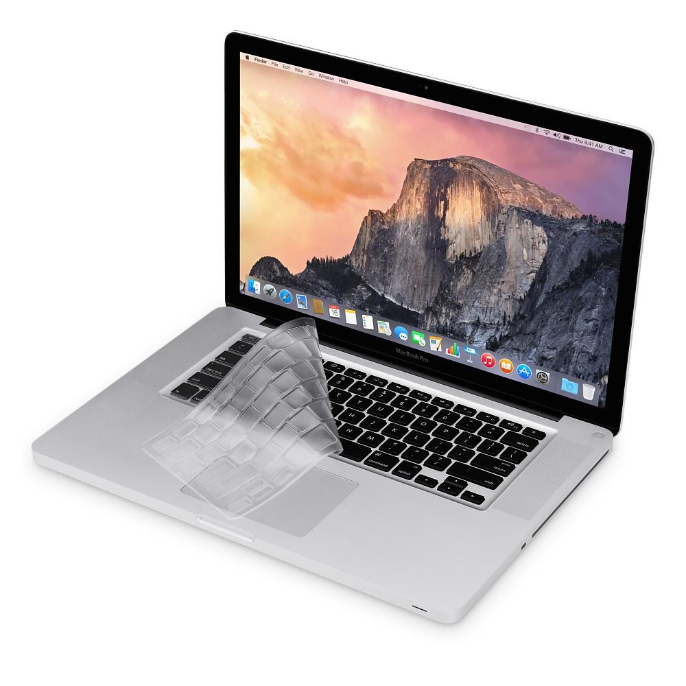 Накладка на клавиатуру Moshi ClearGuard Keyboard Protector для MacBook 13-15 дюймовЗащитные пленки и накладки<br>Полностью прозрачная текстура не влияет на видимость символов на клавиатуре. Каждая выемка накладки идеально подогнана под соответствующ...<br><br>Цвет товара: Прозрачный<br>Материал: Термопластичный полиуретан