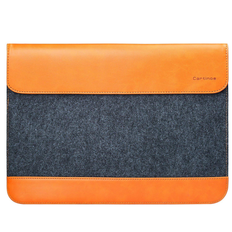 Чехол Cartinoe Envelope Series для MacBook 13 серый/светло-коричневыйMacBook<br>Благодаря Cartinoe Envelope Series ни пыль, ни царапины не будут страшны вашему MacBook.<br><br>Цвет: Коричневый<br>Материал: Войлок, кожа